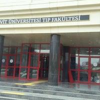 Photo taken at Beü Diş Hekimliği Fakültesi by Basak K. on 1/4/2017