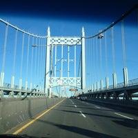 Photo taken at Robert F. Kennedy Bridge (Triborough Bridge) by Diana on 9/28/2013