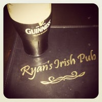 Photo taken at Ryan's Irish Pub by //sarah on 1/11/2013