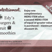 Photo taken at Edy's Burger by Robert S. on 6/12/2014