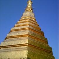 Photo taken at Wat Prathat Cho Hae by Karnkaran S. on 1/19/2013