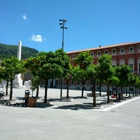 Photo taken at Piazza Aranci by Giacomo R. on 5/24/2014