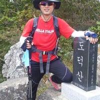 Photo taken at 도덕산 정상 by richard p. on 10/2/2012