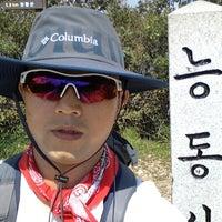Photo taken at 능동산 by richard p. on 9/19/2012