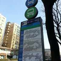 Photo taken at 광림교회 버스정류장 (ID : 23-103) by Jungyoun on 3/6/2014