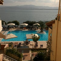 Photo taken at Negroponte Resort Eretria by Nikos H. on 10/4/2012