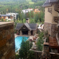 Photo taken at Fireside Lounge at Four Seasons Resort Vail by Wyodiva S. on 8/10/2013