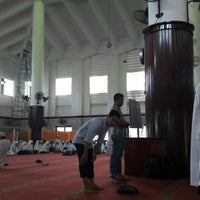 Photo taken at Masjid Agung Medan by Andy L. on 6/19/2016