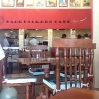 Photo taken at Backpackers cafe, Elante by Jasmeet D. on 4/15/2013