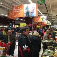 Photo taken at Auchan by Shuji M. on 11/11/2016