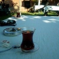 Photo taken at Şerife Bacı Öğretmen Evi Çay Bahçesi by Furkan K. on 7/17/2015