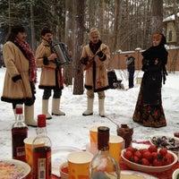 Снимок сделан в Николина гора пользователем Andrey D. 1/1/2013