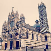 Photo taken at Duomo di Siena by Andrey D. on 3/1/2013
