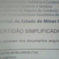 Photo taken at Junta Comercial do Estado de Minas Gerais - JUCEMG by isac s. on 2/12/2014