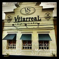 Photo taken at Villarreal Supermercados by Renato F. on 12/21/2013