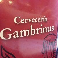 Photo taken at Gambrinus by Carlos Alberto G. on 1/2/2013