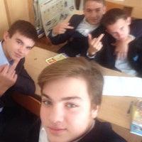 Photo taken at Первая Украинская гимназия им. Н. Аркаса by Emre B. on 10/13/2014