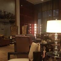 Photo taken at Westin Wuhan Lobby Lounge by Jason M. on 10/23/2017