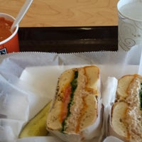 Photo taken at Bruegger's by Chad H. on 10/9/2013