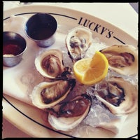 Photo taken at Lucky's Steakhouse by Maureen B. on 9/16/2013