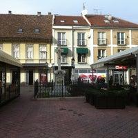 Photo taken at Magistratski trg by danijela d. on 1/21/2013