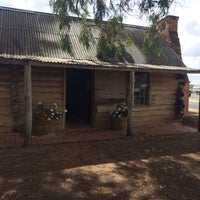 Photo taken at Cobram Log Cabin by Pippin E. on 3/21/2014