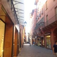 Photo taken at Via D'Azeglio by Stefano T. on 5/16/2017