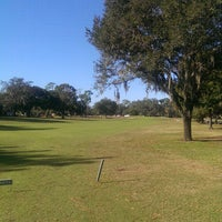 Photo taken at Babe Zaharias Golf Course by Bill C. on 11/30/2014