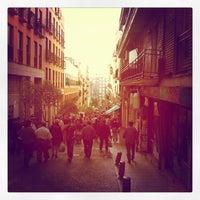 Photo taken at Rastro de Madrid by Nacho C. on 10/7/2012