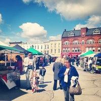Photo taken at Stratford Market Square by Stratford C. on 5/4/2014
