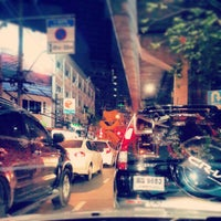 Photo taken at Sukhumvit Road by chan t. on 6/11/2013
