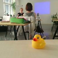 Photo taken at Hub Helsinki by Dick L. on 6/8/2013