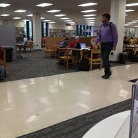 Photo taken at Newman Library by Faye K. on 9/6/2013