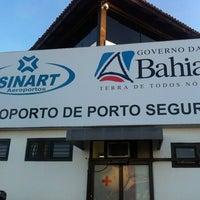 Photo taken at Aeroporto de Porto Seguro (BPS) by Vinicius M. on 12/26/2012