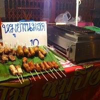 Photo taken at หมูย่างนมสด by Mi M. on 3/7/2014