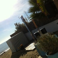 Photo taken at South Beach by Fabienne M. on 1/5/2014