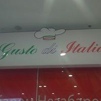 Photo taken at Gusto di Italia by Екатерина Р. on 6/20/2014