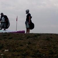 Photo taken at Nilüfer Havacılık Tesisleri by Tuğrul B. on 9/4/2014