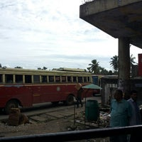 Photo taken at KSRTC Bus Station by Sarath M. on 10/9/2013
