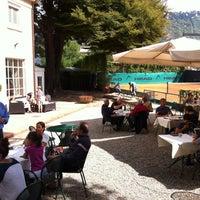 Photo taken at Ristorante tennis club di Villa Geno by Leonardo V. on 9/15/2013