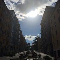 Photo taken at Piazza Carlo Bilotti (Ex Piazza Luigi Fera) by Masha D. on 7/23/2014