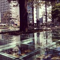 Photo taken at Praça Tiradentes by Geovana V. on 9/22/2012