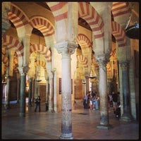 Photo taken at Mosque-Cathedral of Cordoba by Alex C. on 4/19/2013