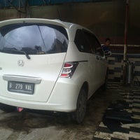 Photo taken at Auto iqbal Car Wash by Wiranata K. on 1/17/2014