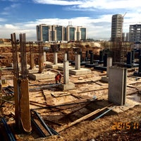 Photo taken at Erbil  Media City by Mücahit A. on 11/26/2015