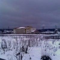 Photo taken at Mehmet Akif ERSOY Anadolu İmam Hatip Lisesi by Nesrin Ö. on 12/31/2014