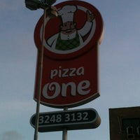 Photo taken at Pizza One by Talita L. on 11/25/2012