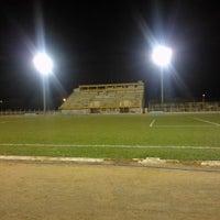 Photo taken at Estadio Municipal De Guararapes by Niraldo M. on 8/1/2014
