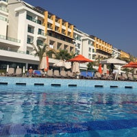 Photo taken at Port Nature Swimming Pool by Ayşe Y. on 10/6/2016