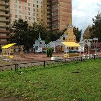 "Photo taken at Детская площадка ""Петропавловская крепость"" by Маняша 🌺 on 9/24/2013"